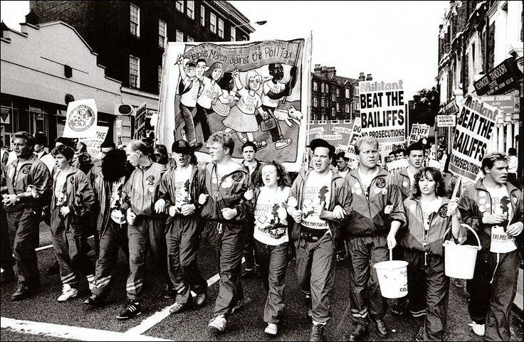 Socialist Party :: The Reunion rewrites history: the Poll Tax