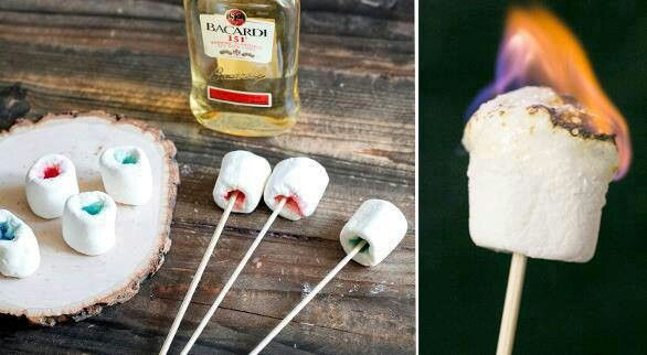 Marshmellow jello shots