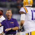 Close ties to coach Les Miles figure to play a role in Cameron's plans at LSU.