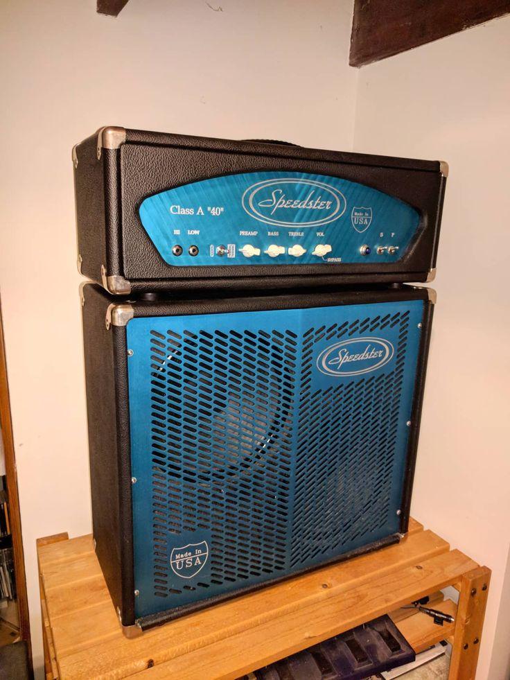 Speedster Class A 40 watt amp and matching 2x12