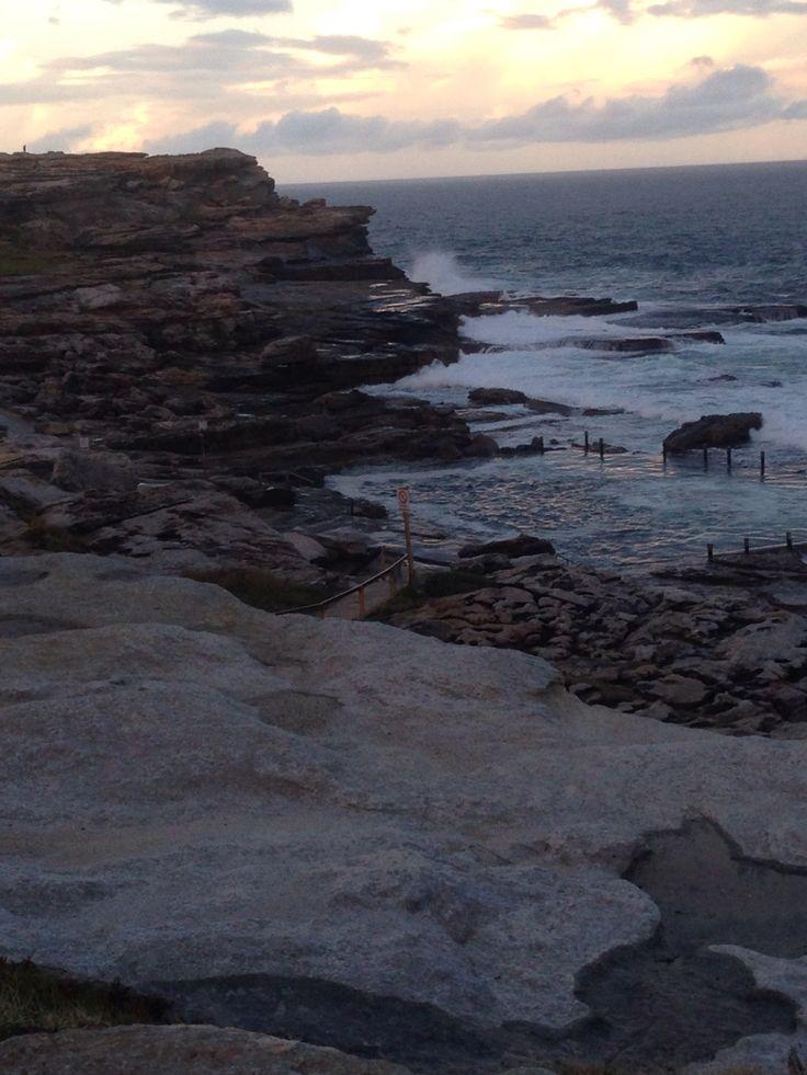 Maroubra rocks / Sydney / Australia