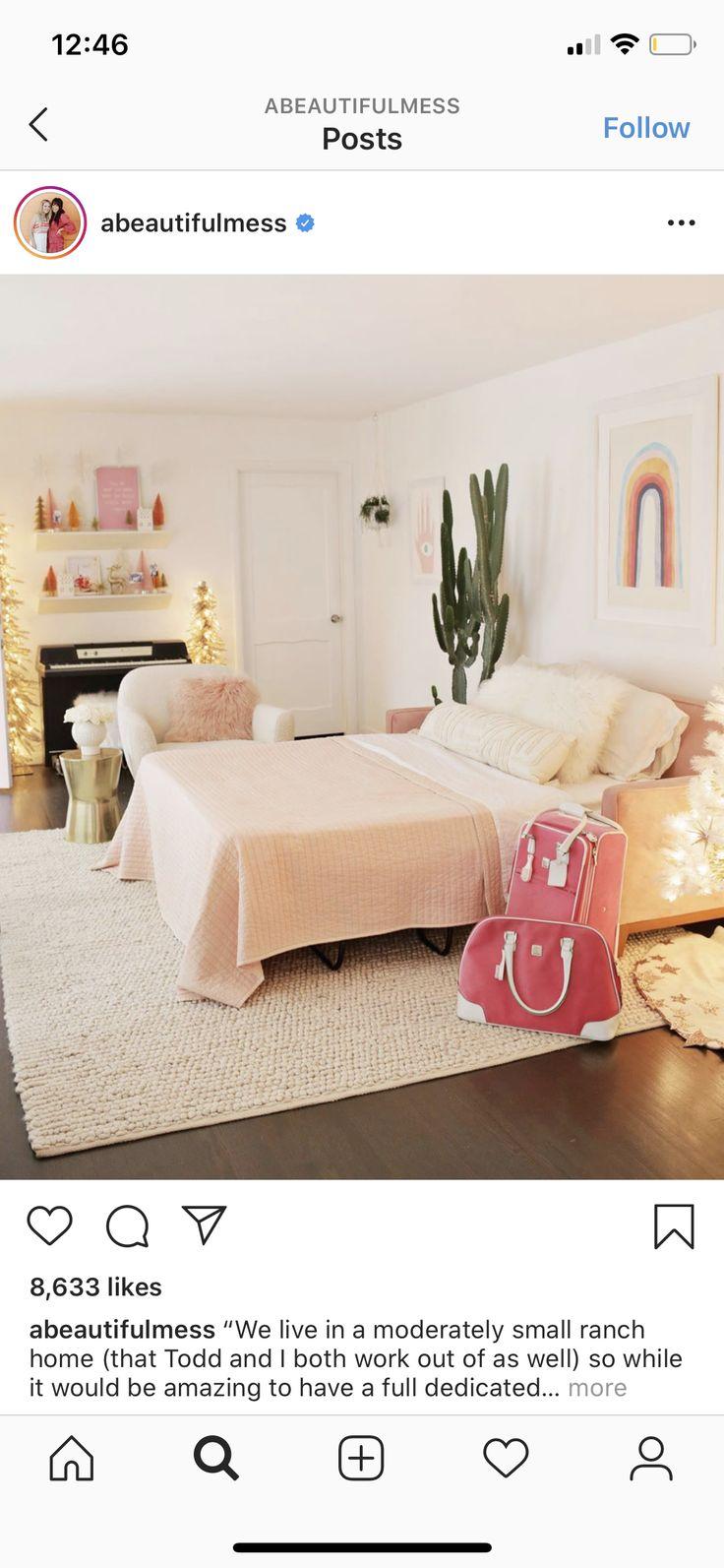 Pin by Kira Delgado on Great rooms in 2020 Air mattress