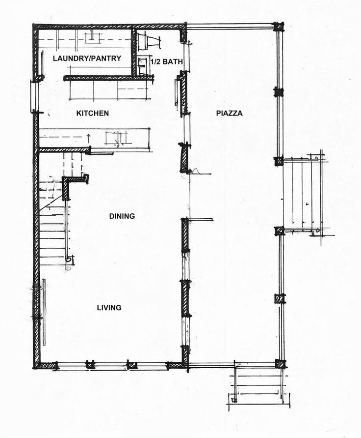 Main Floor Plan The Spartina Hot Humid Solutions