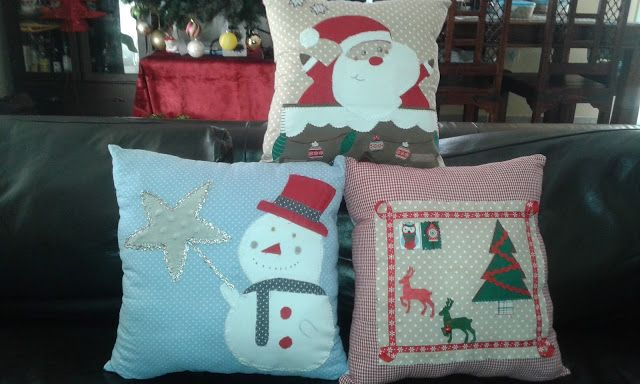 Afroditi's world: Χριστουγεννιατικα μαξιλαρια (2)