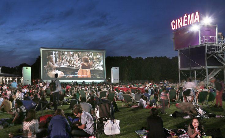 cinéma plein air la villette 2015