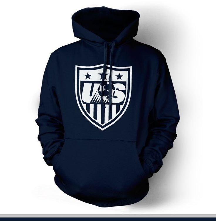 Show your passion and stay warm with this beautiful United States Soccer Hoody/Sweatshirt. - Gildan Heavy Blend - Classic Fit Hooded Sweatshirt - 50% Cotton / 50% Polyester - Air Jet Yarn = Softer Fee