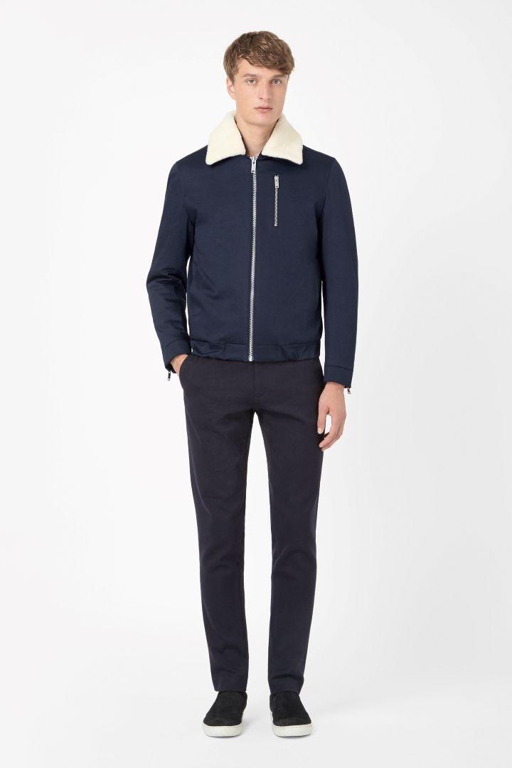 COS   Cotton flight jacket
