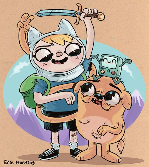 Adventure Time | Erin Hunting
