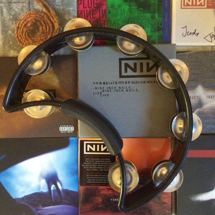Trent Reznor's tambourine (NIN / Nine Inch Nails)