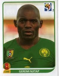 Image result for 2010 panini cameroon njitap