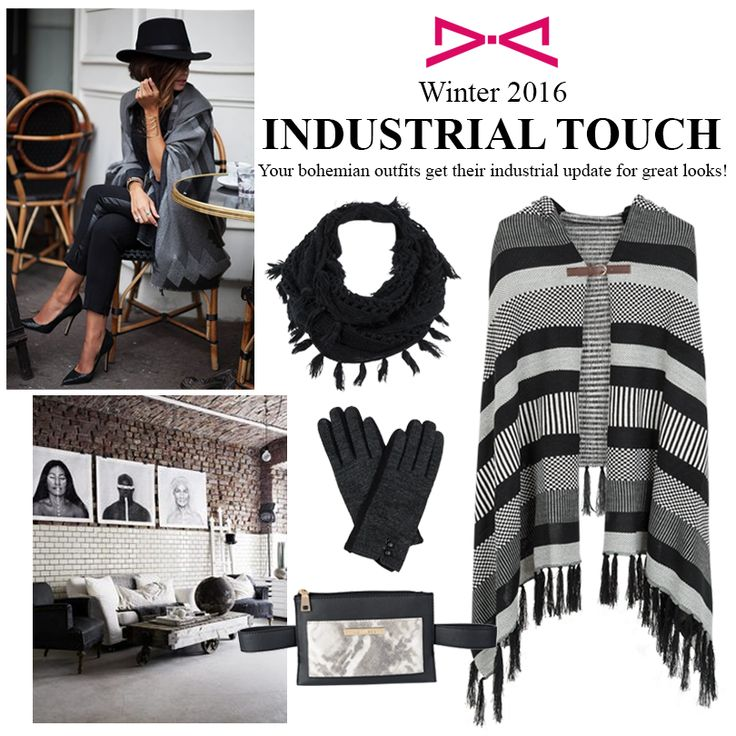 Industrial Touch in Bohemian Looks