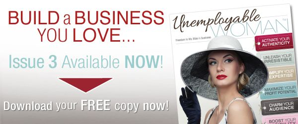 Inspiring women entrepreneurs over at Unemployable Woman magazine. Check out the amazing interviews with Abby Kerr, Miki Strong, Stephanie Pollock, Gina Bell and Andrea Owen. http://bit.ly/uwpodcast