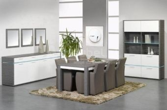 Woonkamerset Zwolle Blanc | Goedkoopst bij A-meubel http://www.a-meubel.nl/woonkamers/meubelset/woonkamerset-zwolle-blanc/11768