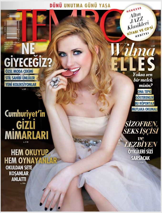 Wilma Elles - Tempo Magazine Cover [Turkey] (October 2011)