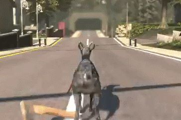 10 Goddamn Hilarious Gifs From Goat Simulator