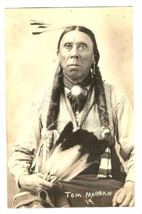 Tom Morgan - Native American Indian.