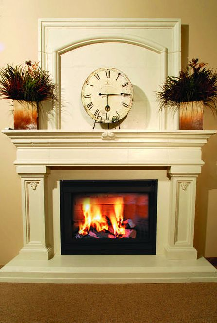 64 best Fireplace Surrounds and Mantels images on Pinterest | Stone ...