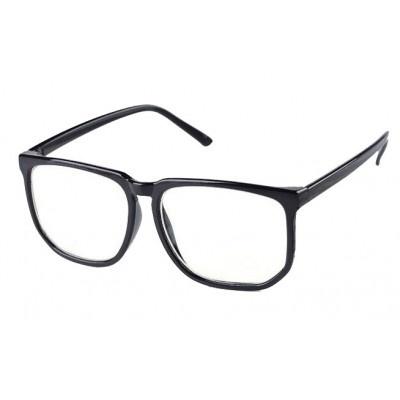 $7 Fausse Lunette Geek Noir