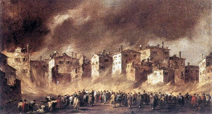 Francesco Guardi Incendio a San Marcuola
