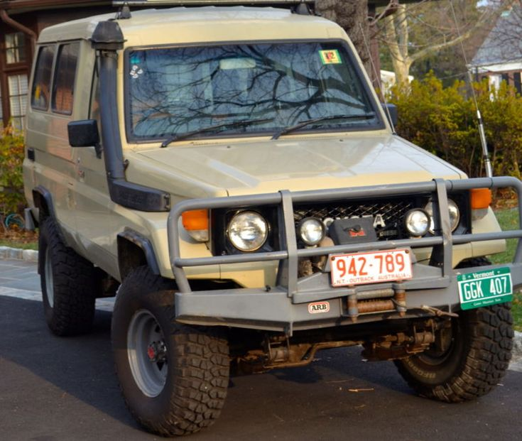 Late Model Troopie 1988 Toyota Land Cruiser Hj75