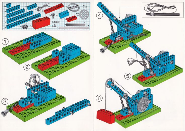 lego gears and pulleys | Pictures coming for the the primary model, and the secondary model on ...