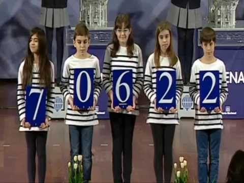 Resultados sorteo Loteria Nacional de España sabado 21 de Febrero 2015