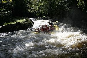 The National White Water Centre is located in the stunning Snowdonia National Park and is an ideal activity for those of you who want to do something exhilerating and different for your stag/hen party.