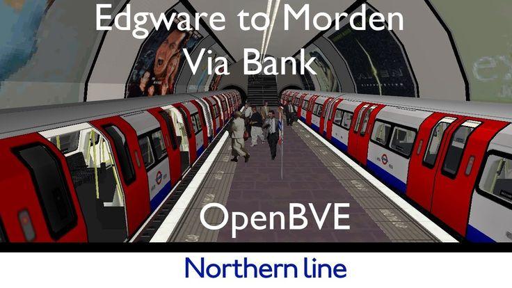 London Underground Simulator Northern Line #london #londonunderground #underground #tube #tfl #train #transport #simulation #simulator #trains #trainsim #openbve #northernline #londontransport #transportation #metro #subway