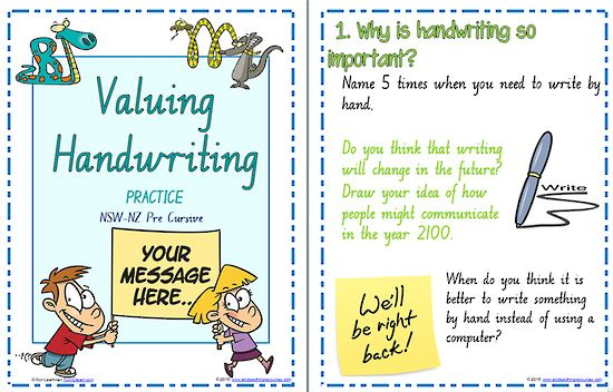 Year 2  Handwriting | Practice | Valuing Handwriting | NSW-NZ Pre Cursive | PREMIUM RESOURCE | FONT OPTION | A set of seven activity cards suitable for fluent writers to understand the need to develop legible, fluent handwriting. These activities give the student an opportunity to explore and develop different writing styles.