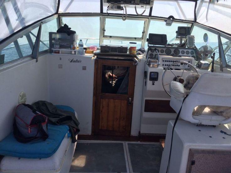 Aquasport 28' Toute équipé pour la pêche au saumon Avec cabine auto pilot GPS sonar et ++