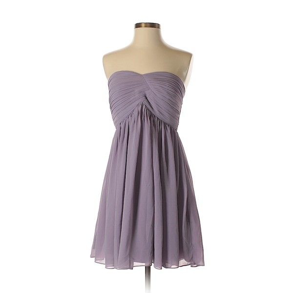 Lily  Cocktail Dress ($31) ❤ liked on Polyvore featuring dresses, light purple, purple dresses, lavender dresses, lily dress, lavender cocktail dress and purple cocktail dresses