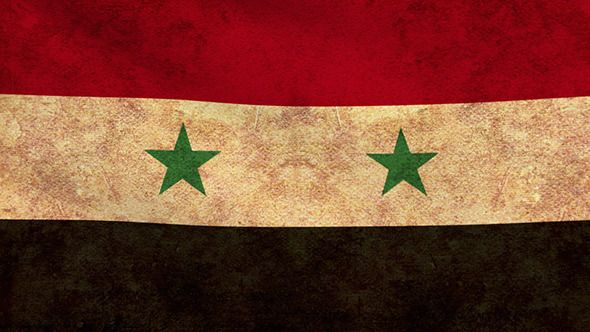 Syria Flag 2 Pack – Grunge and Retro Link this file here:http://videohive.net/item/syria-flag-2-pack-grunge-and-retro/9271517?ref=Aslik Syria Flag 2 Pack – Grunge and Retro Pack contains 2 animated Syria Flag:grunge, retro Duration each video – 25 seconds Very easy to use 1920X1080 Full HD resolution Duration 25 seconds 29.97 FPS