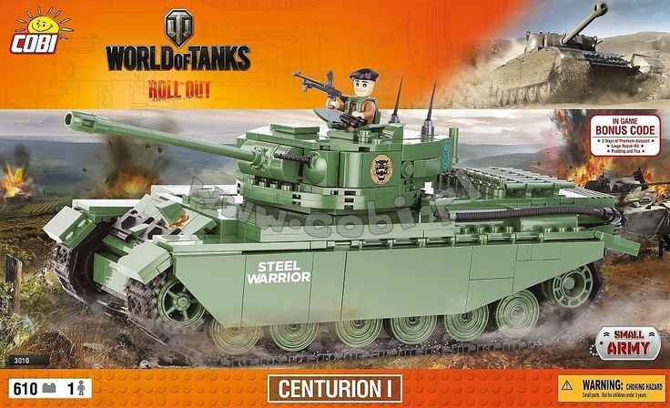 COBI Centurion Tank 3010 - £29.99 & free UK shipping