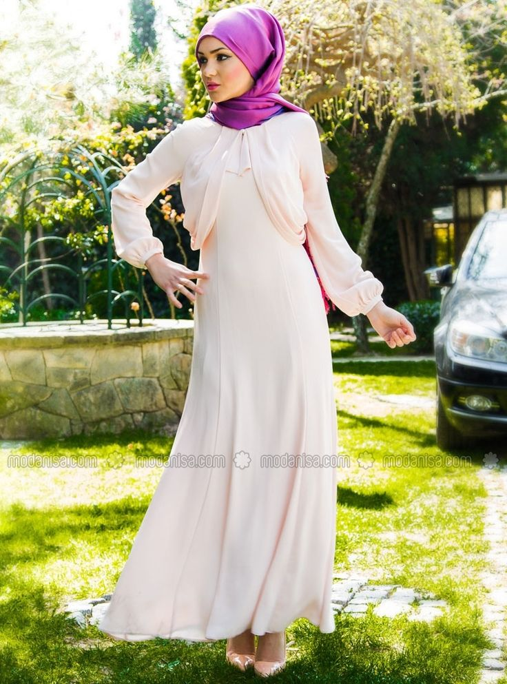 Передняя шнурок платье Тюль Подробные Ручки - Порошок - Акер