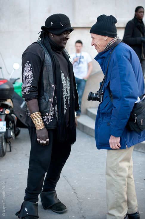 Bill Cunningham street style eye-to-eye