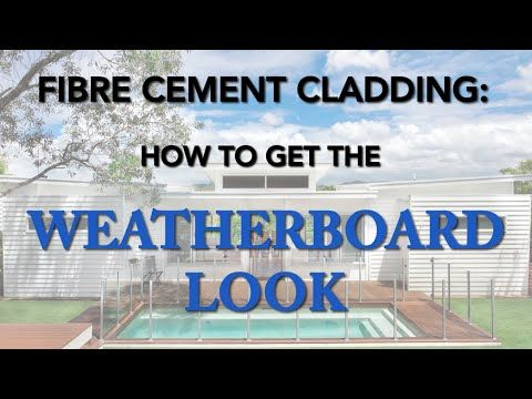Love the weatherboard home look but not sure how to get it? Watch this episode of The Green Building show and find out how fibre cement weatherboards can get you the look you want without the high maintenance and cost of timber weatherboards.