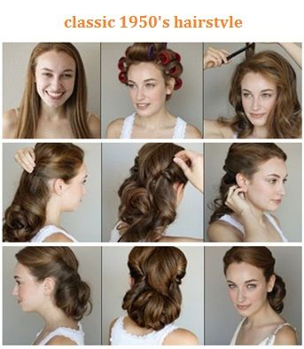 Classic 1950′s hairstyle
