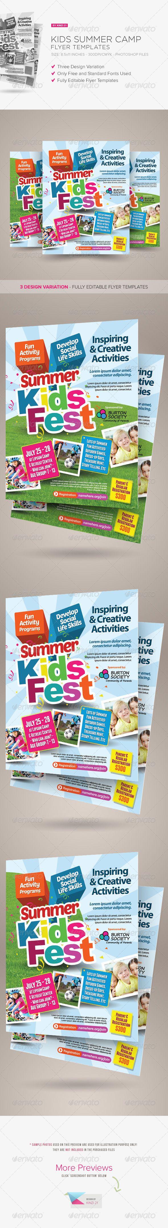 Kids+Summer+Camp+Flyers