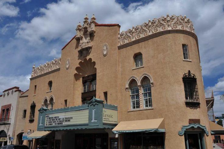 //santa fe   O prédio da Ópera em Santa Fé, no Novo México - Estados Unidos