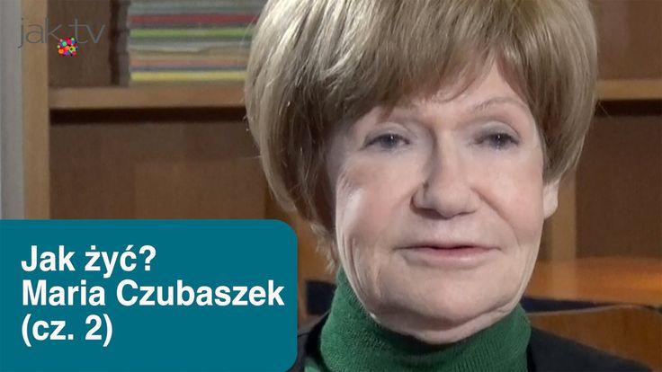 Maria Czubaszek w Jak żyć? - internetowy talk show, odc. #3 - (cz.2) | w...
