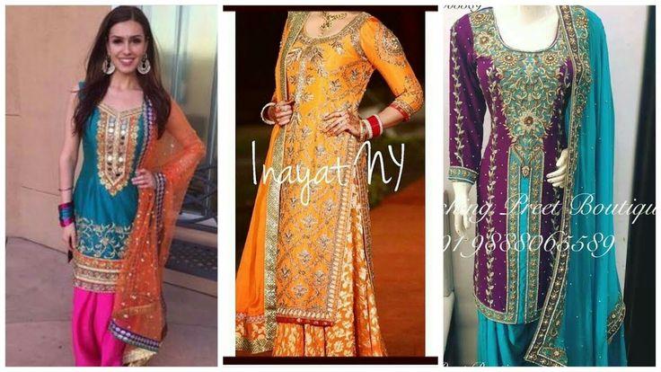 Fancy Punjabi Suit Patiala Salwar Dress Designs Party Wear
