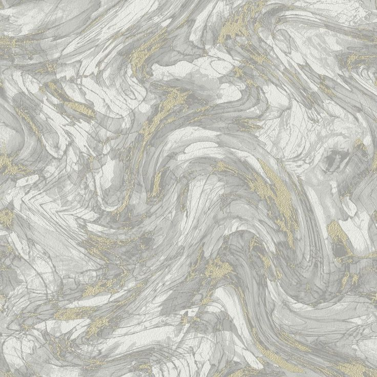Opus Wallpaper / Enzo Marble Grey/ Gold / 35661
