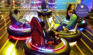 Groupon - Krazy Kars, Bumper Cars, Mini Golf, and Rock Wall for Two or Four at Arnold's Family Fun Center (Up to 53% Off) in Oaks. Groupon deal price: $19