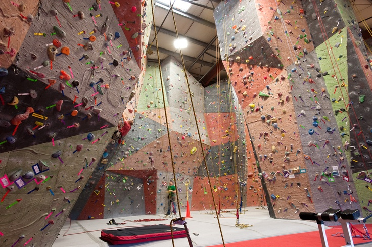 Seattle Vertical World version V.3 - by Elevate climbing Walls