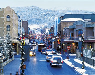 Park City, Utah! - Stay on Main Street so you can walk to all the restaurants and bars!