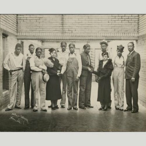 Scottsboro Boys and Juanita Jackson Mitchell. On March 25, 1931, nine African American teenagers were accused of raping two white women aboard a Southern Railroad freight train in northern Alabama. Haywood Patterson, Olen Montgomery, Clarence Norris, Willie Roberson, Andrew Wright, Ozie Powell, Eugene Williams, Charley Weems and Leroy Wright
