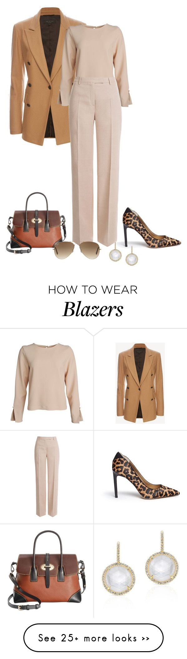 """Untitled #1968"" by elia72 on Polyvore featuring rag & bone, Emilio Pucci, Sam Edelman, Dooney & Bourke and Ray-Ban"
