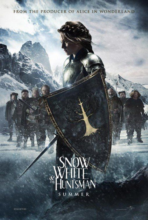 Snow White and the Huntsman -- The legendary tale is now an action-adventure epic filled with intense battles and spectacular visual effects. Starring Charlize Theron, Kristen Stewart and Chris Hemsworth.♥♥♥