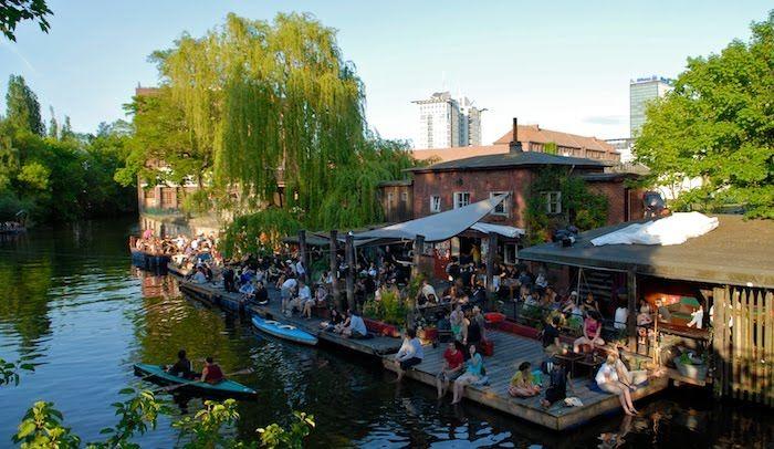 Heinz Minki, beer garden great in summer, warm and cozy in winter