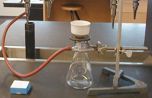 Filtración por gravedad y filtración al vacío